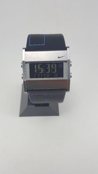Relógio De Pulso Nike Oregon Square Digital Couro