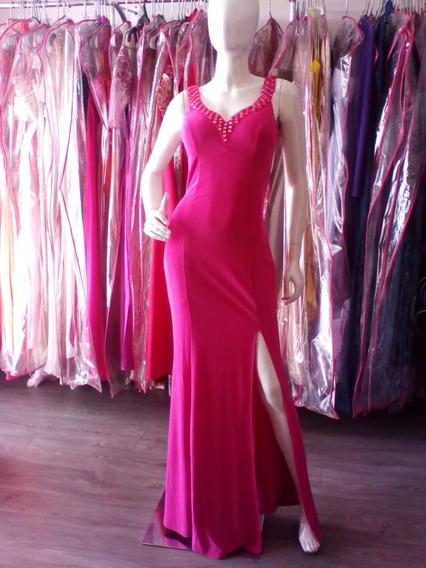 Vestido Rosa De Fiesta / Noche