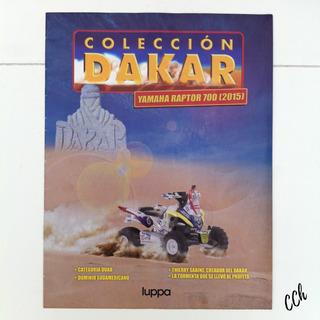 Revista Colección Dakar Yamaha Raptor 700 1/43 Cch