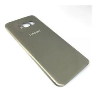 Tampa Traseira Tampa Da Bateria Samsung Galaxy S8 Sm-g950 Cinza