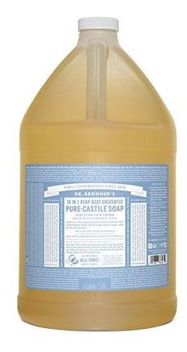 Imagen 1 de 1 de Dr. Bronners - Pure-castile Liquid Soap (baby Unscented, 1