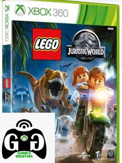 Lego Jurassic World-xbox 360-midia Digital