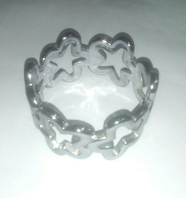 Bracelete Feminino Prata (semi Jóia)