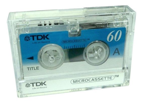 Microcassette Tdk 60 - El Mejor Precio En Micro Casettes !!!