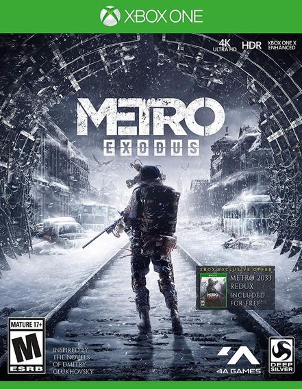 Metro Exodus - Xbox One - Midia Fisica! Pronta Entrega!