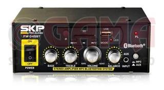Amplificador Instalacion 45 Watts 12v/220v 70-100 Volts Us