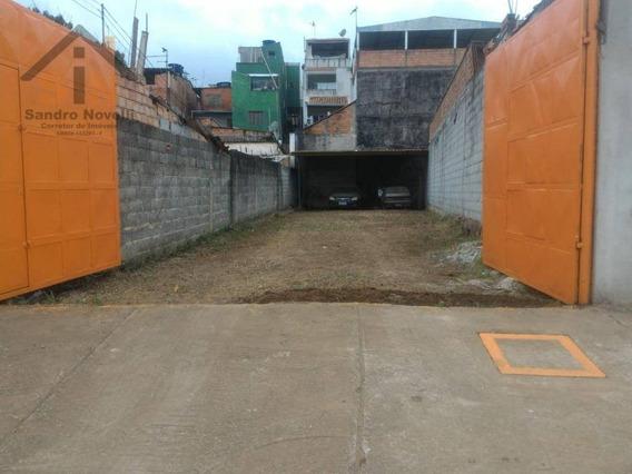Terreno À Venda, 145 M² Por R$ 170.000,00 - Vila Nova Bonsucesso - Guarulhos/sp - Te0093