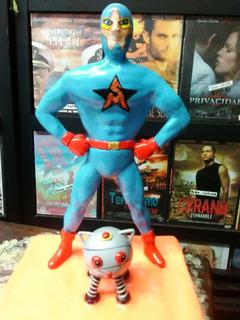 Starman El Libertario Escultura Potcelanicron