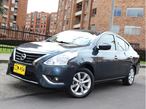 Nissan Versa Advance Mt 1.6 L 2015 - Placa Par Bogotá