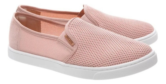 Tênis Anacapri Lily Slip On Blush