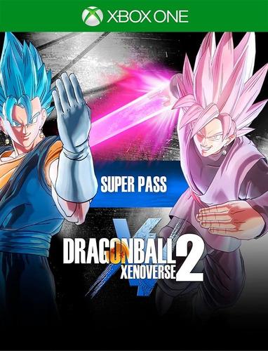 Dragon Ball Xenoverse 2 Super Pass Xbox - Original 25 Díg