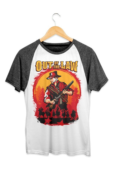 Playera Doshik Caballero Red Dead Redemption Out Of The Law