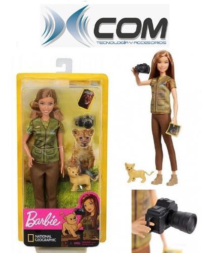 Muñeca Barbie National Geographic, Mattel, Original