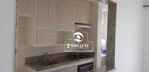 Apartamento Com 2 Dormitórios Para Alugar, 57 M² Por R$ 1.600,00/mês - Vila Assunção - Santo André/sp - Ap16436