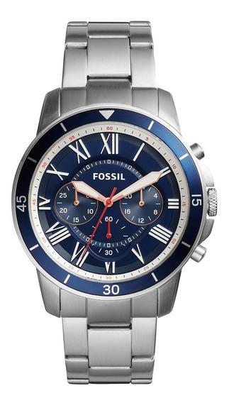 Relógio Fossil Fs5238 Com Nota Fiscal Na Caixa Sem Uso
