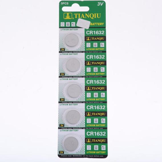 Bateria Cr1632 3v Pilha Cr -1632 Cartela 5 Unidades