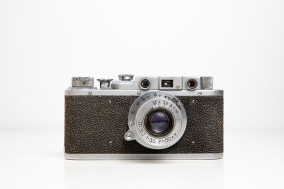Câmera Russa Rangefinder Fed-1 Com Lente Industar 50mm F3.5