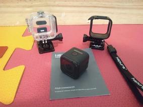 Kit Câmera Gopro Hero 5 Session + Acessorios + Cx Estanque +