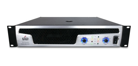 Sj Arcano Potencia Amplificador Arc-paw-6 2700watts Rms 220v