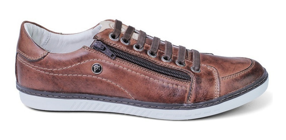 Sapato Sapatênis Masculino Casual Couro Bmbrasil 608/05