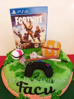 Torta Infantil Fortnite