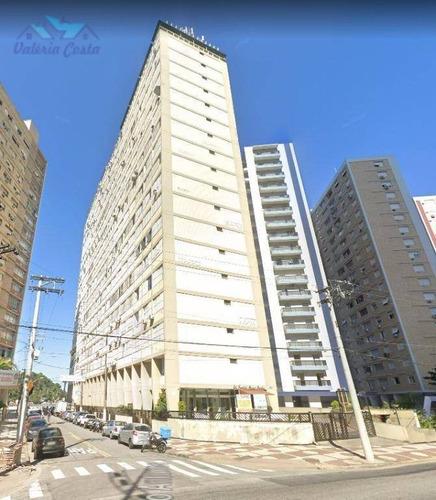 Imagem 1 de 28 de Apartamento Com 2 Dormitórios À Venda, 120 M² Por R$ 720.000,00 - José Menino - Santos/sp - Ap1207