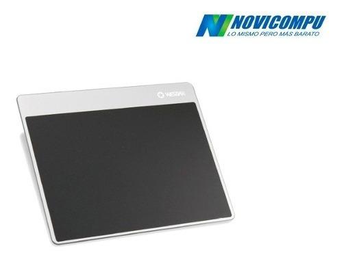 Wesdar Mouse Pad Profesional De Aluminio Con Antideslizante