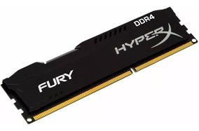 Memória Hyperx Fury 8gb 2666mhz Ddr4 Black Hx426c16fb2/8 C