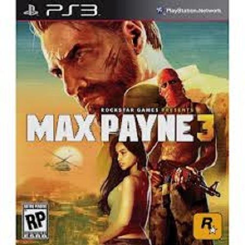 Jogo Max Payne 3 - Ps3 - Psn - Original Em Midia Digital