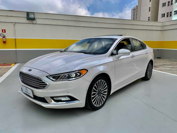 Ford Fusion 2.0 Titanium Awd 2017 Blindado 3-a Único Dono