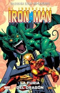 Comic Coleccion Superheroes Iron Man 02. La Furia Del Dragon