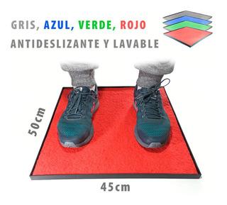 Alfombra Sanitizante + Bandeja. Desinfeccion Calzado 45x50