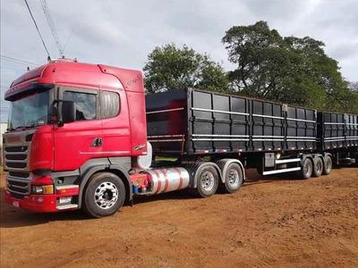 Scania R440 6x4 Com Bitrem 9 Eixos Librelato 2014/2014
