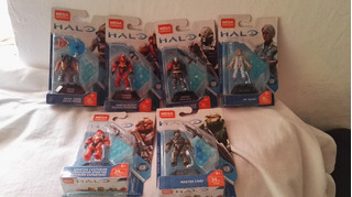 Mega Construx Halo Heroes Serie 8 6/6 Serie Completa