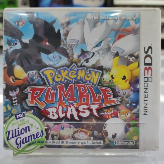 Pokemon Rumble Blast Nintendo 3ds - Completo