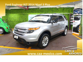 Ford Explorer 2014 Blindada