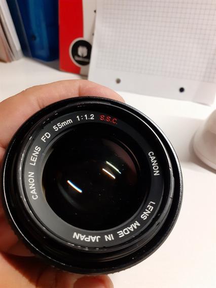 Lente Canon Ssc Fd 55mm F1.2