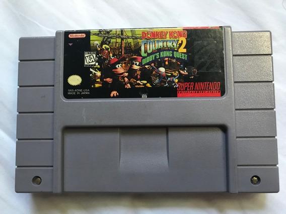Donkey Kong Country 2 - Originial - Super Nintendo (snes)