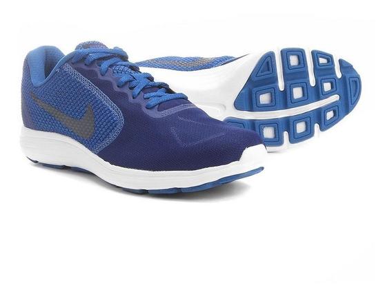 Tênis Nike Revolution 3 Azul/preto