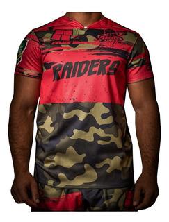 Camiseta Rugby Cays Antidesgarro Juego Remera Partido Tela Reforzada