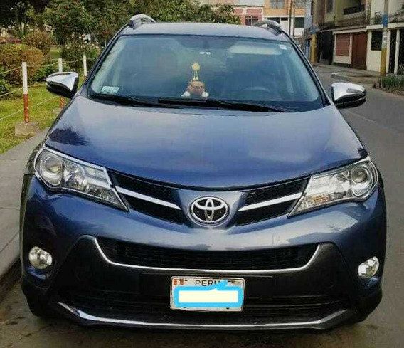 Toyota Rav4 2.0 4x2 Mt Azul Grisaceo Metalico