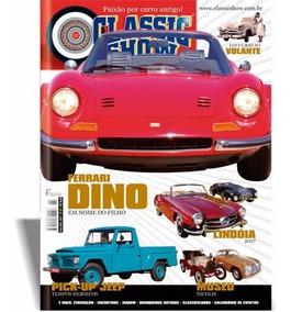 Revista Classic Show Nº 91, Ferrari, F-75, Jeep, Lindóia.
