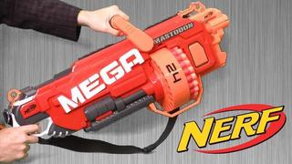 Nerf Mega Mastodon Original Color Rojo