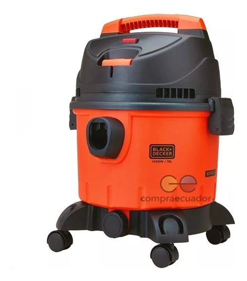 Black Decker Aspiradora 15l 1400w Agua Polvo Soplador 3 En 1