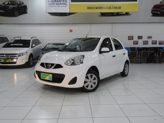 Nissan March 1.0 S 12v Flex 4p Completão Impecável