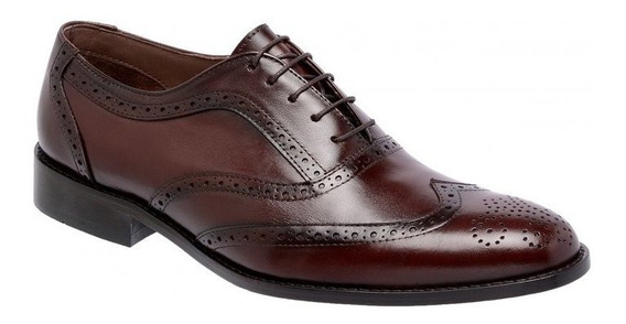 Sapato Social Masculino Oxford Cromo 404 - Frete Grátis
