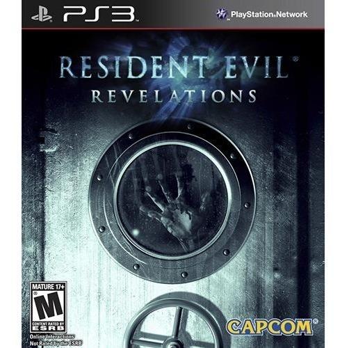 Jogo Terror Midia Fisica Resident Evil Revelations Play3 Ps3