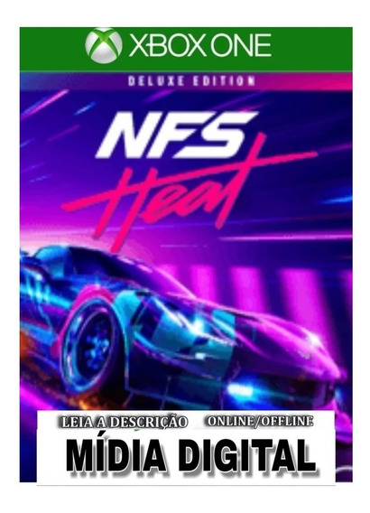 Need For Speed Heat Deluxe Edition Xbox One Digital+2brindes