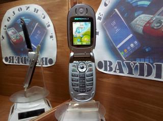 Motorola V330 Telcel Negro -- Envío Gratis --