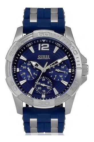 Relógio Guess Masculino Esportivo Azul -  92560g0gsnu2